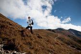 Hiking in Dolomite — Stock Photo