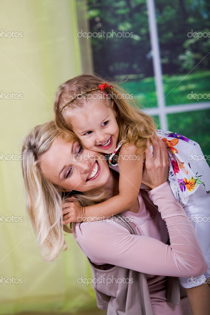 A young girl celebrating birthday — Stock Photo #6230400