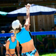 Beach volleyball — Stock Photo #6253592