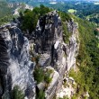 Bastei in Saxon Switzerland - Foto Stock