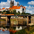 Albrechtsburg in Meissen — Stock Photo