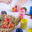Painting Easter Eggs — Stock Photo #6253728