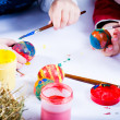 Painting Easter Eggs — Stock Photo #6253730
