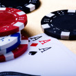Poker — Stock Photo
