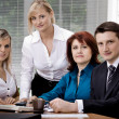 Stock Photo: Office team