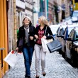 Stock Photo: Shopping in the city