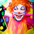 Stock Photo: Little clown