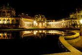 Dresden at night — Stock Photo