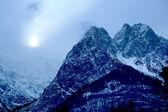 Alps at night — Stock Photo