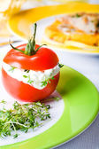 Finger food tomato — Stock Photo