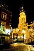 Coburg di notte — Foto Stock