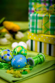 Easter installation — Stock Photo