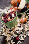 Nuts and kernels — Stock Photo