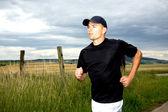 Jogging man — Stock Photo