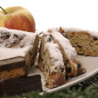 Stock Photo: Germchristmas cake