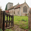 Ampton church — Stock Photo