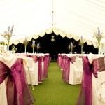 Wedding venue — Stock Photo