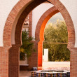Stock Photo: Moorish arches