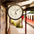Railway clock — Stock Photo #6172642