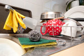 Washing up — Stock Photo