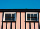Pink house — Stock Photo