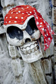 Pirate skeleton — Stock Photo