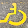 Disabled sign — Stock Photo
