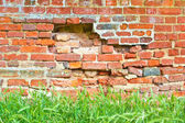 Crumbling wall — Stock Photo