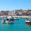 Stock Photo: St Ives Harbour