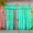 Royalty-Free Stock Photo: Blue door