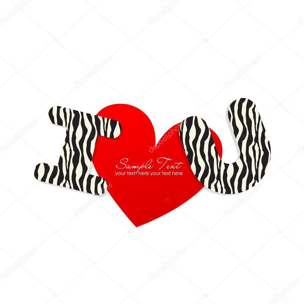 S sticker love live - I Love You Sticker Stock Vector 169 Irinabutusova 6438061