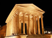 Roman Temple in Nimes (France) — Stock Photo