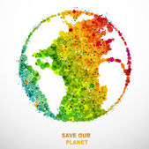 SAVE OUR PLANET — Stock Vector