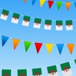 AlgeriBunting flags — Stock vektor #6145631