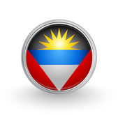 Antigua & Barbuda flag — Stock Vector