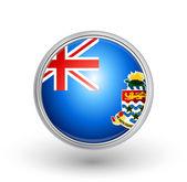 British Overseas Territory of the Cayman Islands flag — Stock Vector