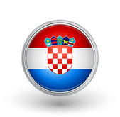 Croatia flag — Stock Vector