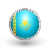 Kazakstan flagga — Stockvektor