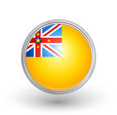 Niue flag — Stock Vector