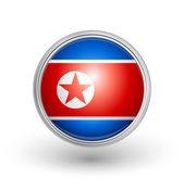 North Korea flag — Stock Vector