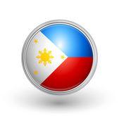 Philippine flag — Stock Vector