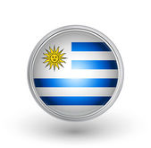Uruguay flag — Stock Vector
