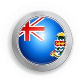 开曼群岛标志按钮 — 图库矢量图片