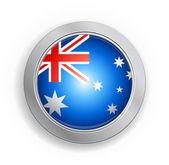 Gemenebest van Australië knop markeren — Stockvector