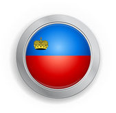 Liechtenstein Flag Button — Stock Vector