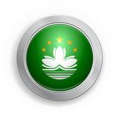 澳门特别行政区标志按钮 — 图库矢量图片