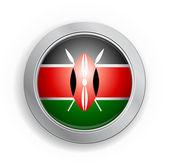 Bouton indicateur de république du kenya — Vecteur