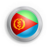 State of Eritrea Flag Button — Stockvektor