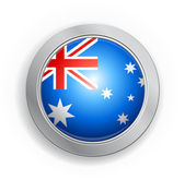 Commonwealth of Australia Flag Button — Stock Vector