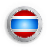 Thailand Flag Button — Stock Vector